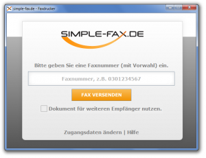 Faxdrucker Windows
