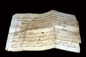 Antikes Schriftstück