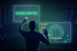 Hacker loggt sich ins Netzwerk ein
